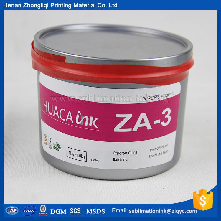 Tinta de impresión offset de alta calida